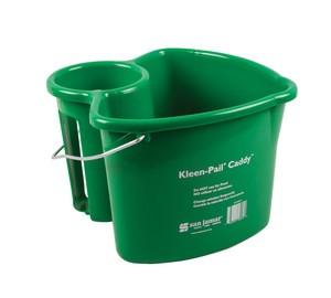 Kleen-Pail Caddy w/o Spray Bottle - Green