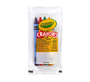 4ct Crayola Cello Crayon Pack (360 packs/case) - 52-0083