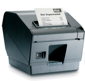 Star Micronics TSP743IId-24, Thermal Printer, Cutter, Serial, Putty, Requires Power Supply # 30781870