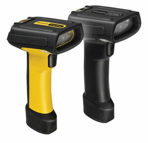 Datalogic PowerScan PD7130 Barcode Scanner, W/Pointer, Yellow/Black, USB kit