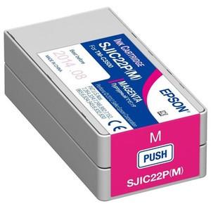 Epson SJIC22P(M) Ink Cartridge for Epson TM-C3500 - Magenta