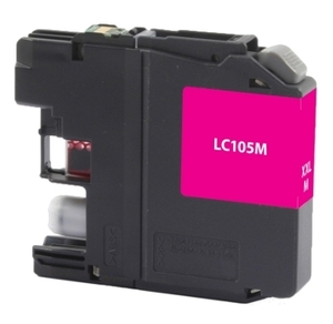 Brother LC105M Compatible Inkjet Cartridge (1200 page yield) - Magenta