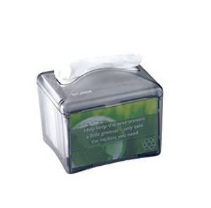 Venue Table Top Napkin Dispenser - Interfold - Black Pearl