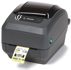 Zebra GK420 Desktop Label Printer with Thermal Transfer Print Mode, Ethernet (Replaces Serial and Parallel)