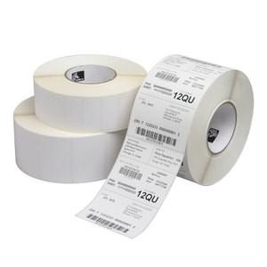 "3.25"" x 5.5""  Zebra Thermal Transfer PolyPro 4000T Kimdura Polypropylene Label;  3"" Core;  870 Labels/roll;  4 Rolls/carton"