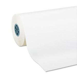 "36"" x 800' - 50# Bleached Bright White Kraft Roll"