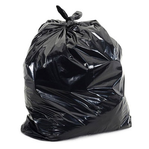 "38"" x 60"" - 17 micron Trash Bags (200 bags/case) - Black"
