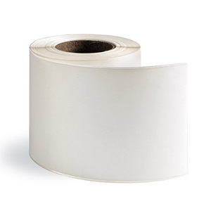 "4"" x 85' - Continuous High Gloss Inkjet Label - Paper; 12 Rolls/case"