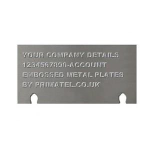 4850 Flatbed Imprinter (Nameplate Only)