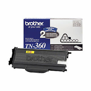 Brother TN-360 High-Yield Toner DCP-7030/ 7040 HL-2140/2170W MFC-7340/7345N