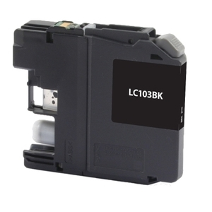 Brother LC103BK Compatible Inkjet Cartridge (600 page yield) - Black