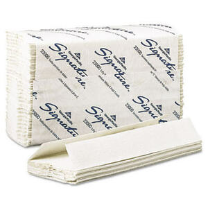 C-Fold Paper Towels, 10-1/4 x 13-1/4, White, 120/Pack, 12/Carton