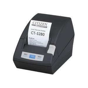 Citizen CT-S280, Thermal POS Printer, 58mm, 80 mm/Sec, 32-48 col, Serial, Black