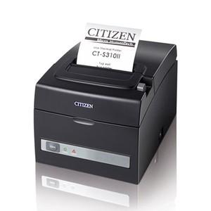 Citizen CT-S310II, Thermal POS Printer, 160mm, USB/Serial Interface, Black, PNE Sensor
