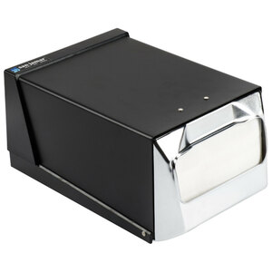 Countertop Fullfold Napkin - Chrome/Black