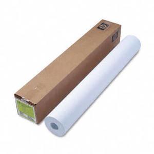"36"" x 300' - 24# HP Designjet Inkjet Large Format Paper - White"