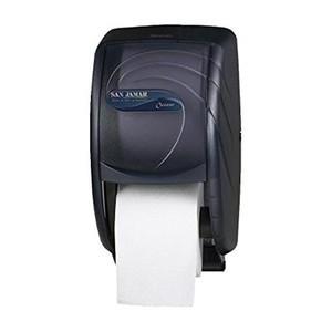 Duett Standard Toilet Paper Dispenser - Oceans - Black Pearl