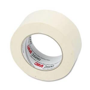 "3M Economy Masking Tape, 2"" x 60 yards, 3"" Core, Cream"