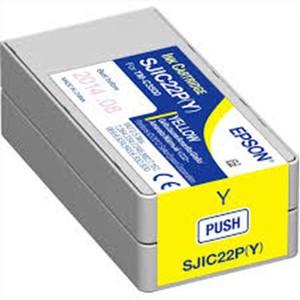 Epson SJIC22P(Y) Ink Cartridge for Epson TM-C3500 - Yellow