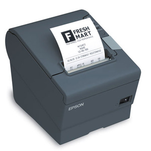 Epson TM-T88V-I, Omnilink Thermal Receipt Printer, TM-I Interface, Serial, Epson Black, Includes Power Supply
