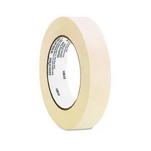"General Purpose Masking Tape, 1"" x 60 yards, 3"" Core, 3/Pack"