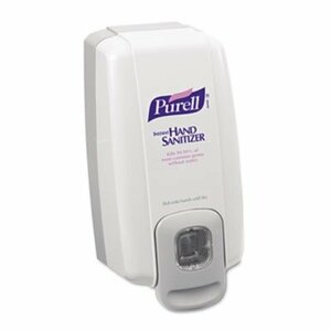 GOJO 212006, White and Gray Purell NXT Hand Sanitizer SPACE SAVER Dispenser, 1000 mL