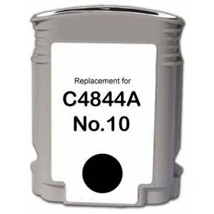 HP C4844A #10 Compatible Inkjet Cartridge (1800 page yield) - Black