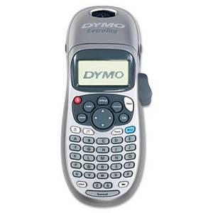 Dymo LetraTag Plus Personal Label Maker, 2 Lines, 3-1/10w x 2-3/5d x 8-3/10h