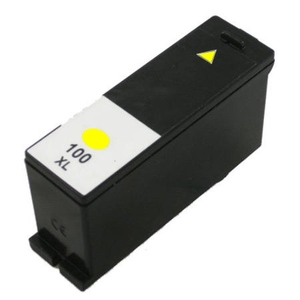 Lexmark 14N1071 #100XL Compatible Inkjet Cartridge (600 page yield) - Yellow