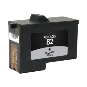 Lexmark 18L0032 #82 Compatible Inkjet Cartridge (600 page yield) - Black