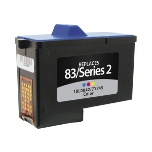 Lexmark 18L0042 #83 Compatible Inkjet Cartridge (450 page yield) - Color