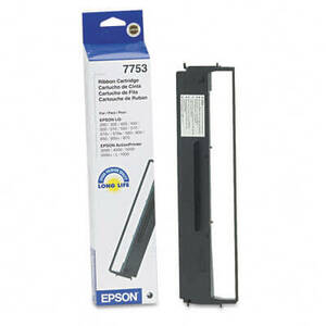 OEM Epson 7753/7755/7768 Printer Ribbons (1 per box) - Black