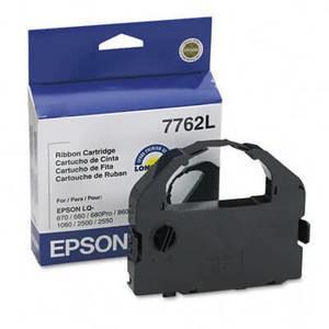 OEM Epson 7762L Printer Ribbons (1 per box) - Black