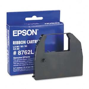 OEM Epson LX-80/90/86 Printer Ribbons (1 per box) - Black