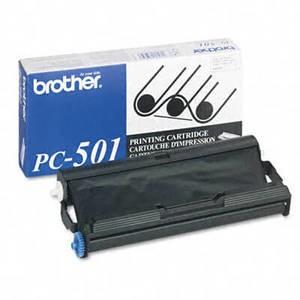 Brother PC-501 Thermal Print Cartridge - Black