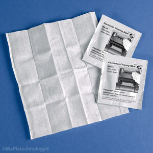 Pre-Saturated Electronics Cleaning Wipe (100 / box)