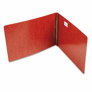 "Pressboard Report Cover, Prong Clip, 11 x 17, 3"" Capacity, Red"