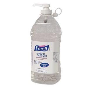 PURELL 962504 Economy Size Hand Sanitizer, 2 Liter (1 Bottle)