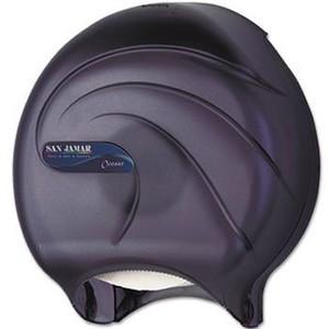 "Single 9"" Toilet Paper Dispenser JBT - Oceans - Black Pearl"