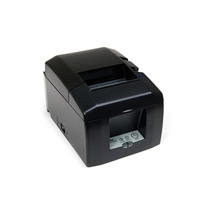 Star Micronics TSP654IIbi-24 Gry (Auto-Connect), Bluetooth, Thermal Printer, Cutter, Gray, Power Supply Included, Ios, Android, Windows, Replaces 39449871
