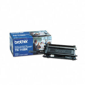 Brother TN115BK High-Yield Toner, 5000 Page-Yield, Black