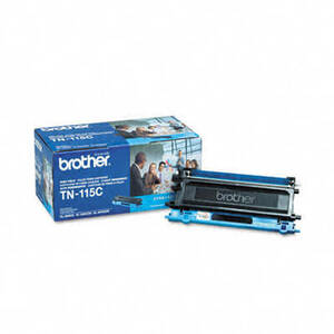 Brother TN115C High-Yield Toner, 4000 Page-Yield, Cyan