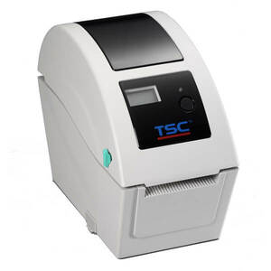 TSC TDP-225 Direct Thermal Printer, 203 dpi, 5 ips (beige) USB and Ethernet with LCD display