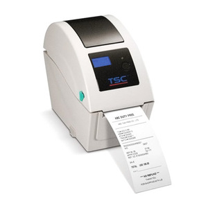 """TSC TDP-225W direct thermal wristband printer, 203 dpi, 5 ips, 6.5"""" OD, includes LCD display, Ethernet, USB"""