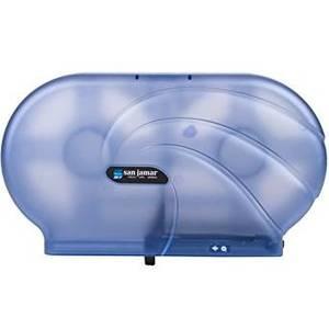 "Twin 9"" JBT Toilet Paper Dispenser Oceans - Arctic Blue"