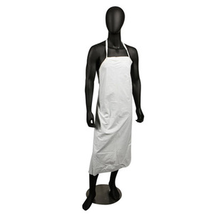 Vinyl Dishwashing Apron - White - 8 Mil