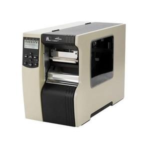 "Zebra 110Xi4 Industrial Label Printer - 4.09"" Print Width, 600 DPI, Rewind with Peel"