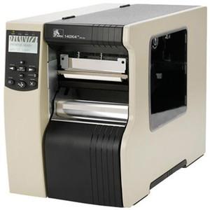 "Zebra 140Xi4 Industrial Label Printer - 5.04"" Print Width, 203 DPI, Rewind with Peel, 802.11 B/G"