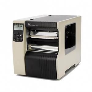 "Zebra 170Xi4 Industrial Label Printer - 6.6"" Print Width, 203 DPI, Rewind with Peel"