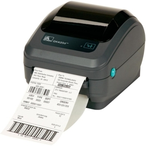 Zebra GK420 Desktop Label Printer with Direct Thermal Print Mode, Ethernet (Replaces Serial and Parallel)
